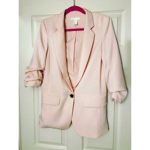 40% Off 💐 H&M Pink Oversized 3/4 Sleeve Blazer